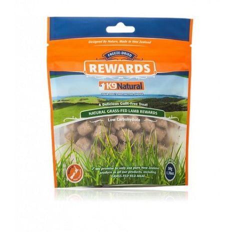 K9 Natural Freeze-Dried Lamb Rewards (50g) | Treats