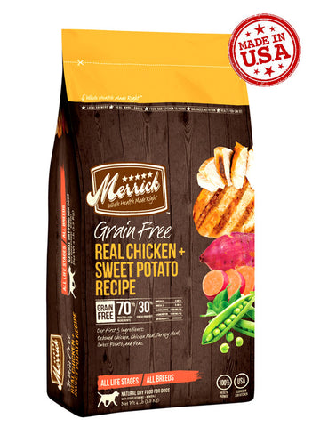 Merrick Grain Free Chicken & Sweet Potato | Dog Dry Food