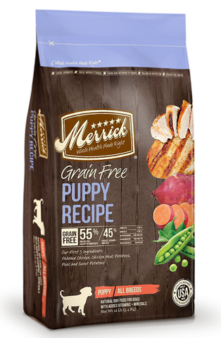 Merrick Grain Free Puppy Recipe | Dog Dry Food