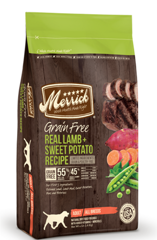 Merrick Grain Free Lamb & Sweet Potato | Dog Dry Food