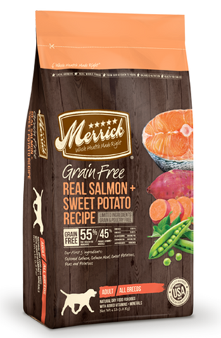 Merrick Grain Free Salmon & Sweet Potato | Dog Dry Food