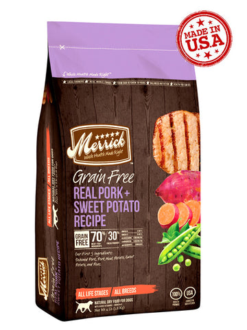 Merrick Grain Free Pork & Sweet Potato | Dog Dry Food