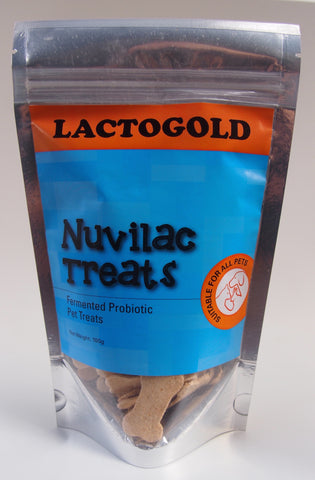 The Barkery Singapore - Lactogold Nuvilac Treats (100g) | Treats - 1