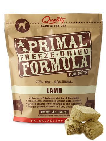 Primal Canine Lamb Formula (Freeze Dried) | Freeze Dried Food - 2