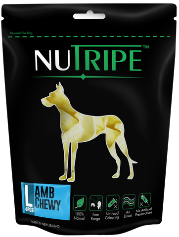 Nutripe Lamb Chewy (6pcs) | Treats