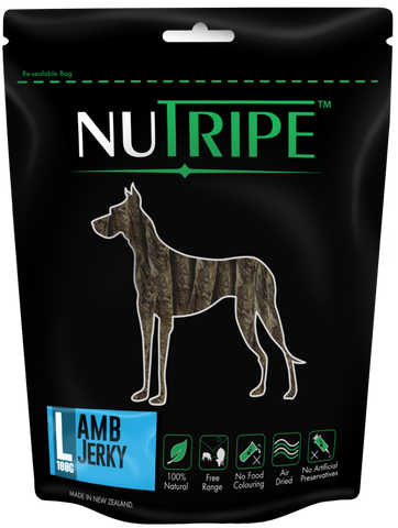 Nutripe Lamb Jerky (100g) | Treats