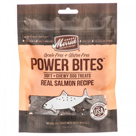Merrick Power Bites - Salmon 170g | Treats
