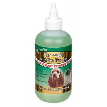 NaturVet Ear Wash With Tea Tree Oil | Grooming