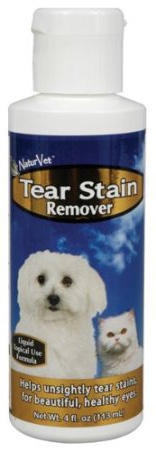 NaturVet Tear Stain Remover (Topical) | Canine Supplements