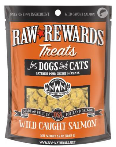 Northwest Naturals - Freeze Dried Treats Wild Caught Salmon (3oz) | Treats