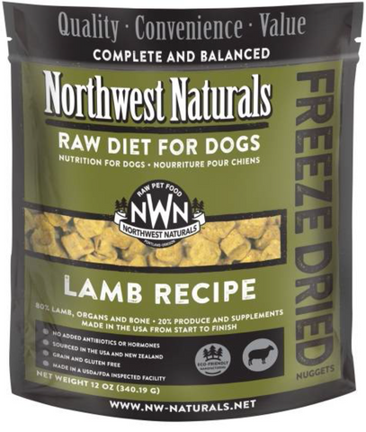 Northwest Naturals - Freeze Dried Raw Lamb (12oz) | Freeze Dried Food