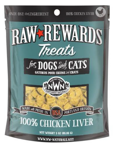 Northwest Naturals - Freeze Dried Treats Chicken Liver (3oz) | Treats
