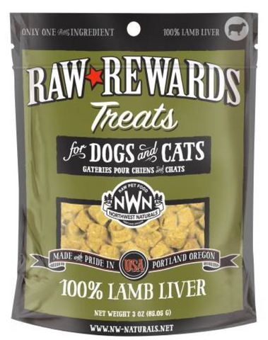 Northwest Naturals - Freeze Dried Treats Lamb Liver (3oz) | Treats