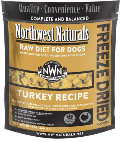 Northwest Naturals - Freeze Dried Raw Turkey (12oz) | Freeze Dried Food