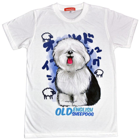 Old English Sheepdog Unisex Graphic T-shirt