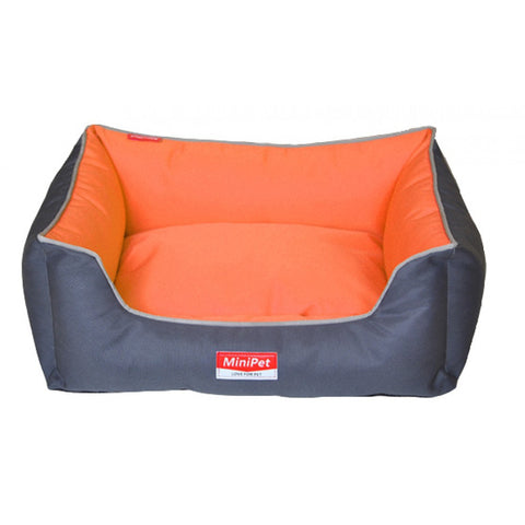 MiniPet Water Resistant Pet Bed with Lining - Large | Accessories - 1