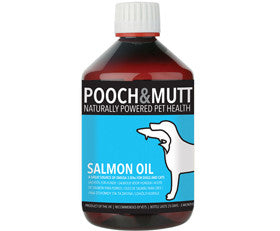 Pooch & Mutt - Atlantic Salmon Oil (500ml) | Canine Supplements