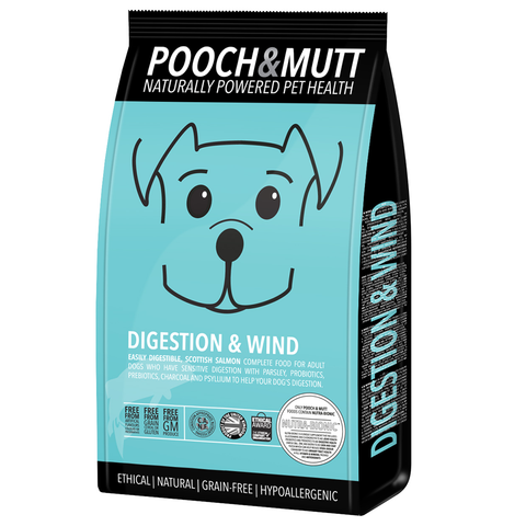 Pooch & Mutt - Digestion & Wind Grain Free Dry Dog Food (2kg) | Dog Dry Food
