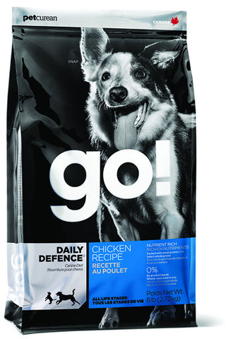Petcurean Go! Daily Defence Chicken Recipe Dry Dog Food | Dog Dry Food