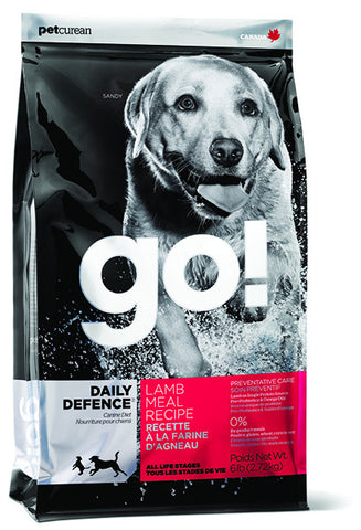Petcurean Go! Daily Defence Lamb Recipe Dry Dog Food | Dog Dry Food