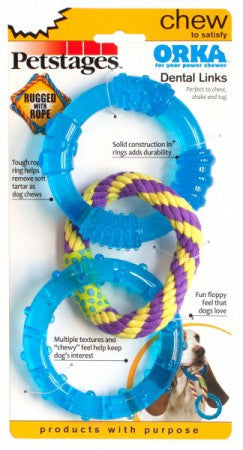 Petstages ORKA Dental Links | Toy - 1