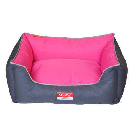 MiniPet Water Resistant Pet Bed with Lining - Small | Accessories - 1
