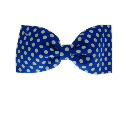 Handmade For Pets - Polka Dot Bowtie (Blue) | Fashion