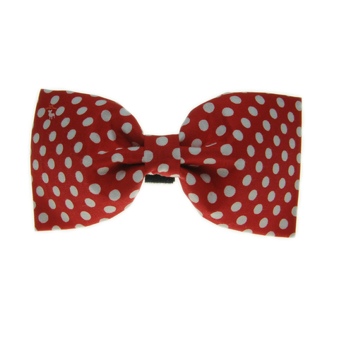 Handmade For Pets - Polka Dot Bowtie (Red) | Fashion