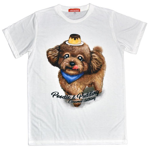 Poodle & Pudding Unisex Graphic T-shirt