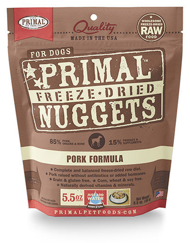 Primal Canine Pork Formula (Freeze Dried) | Freeze Dried Food - 1