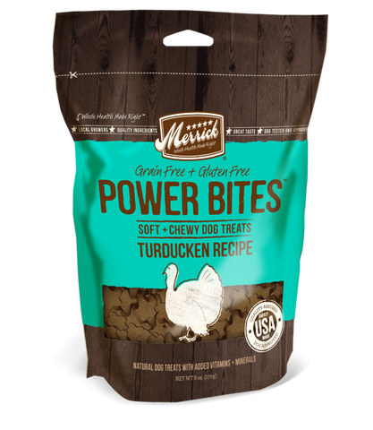 Merrick Power Bites - Turducken 170g | Treats