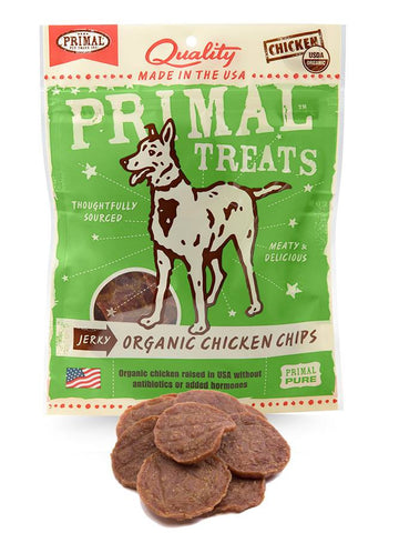 Primal Jerky Organic Chicken Chips | Treats - 1