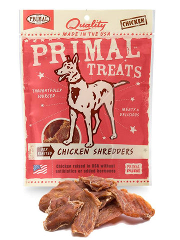 Primal Dry Roasted Chicken Shredders | Treats - 1