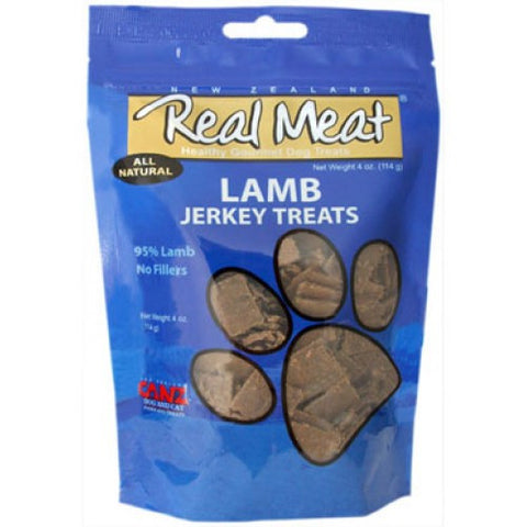 Real Meat Lamb Jerky 4oz | Treats