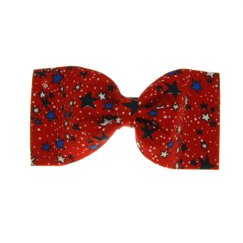 Handmade For Pets - Reach For The Stars Bowtie (Red) | Fashion