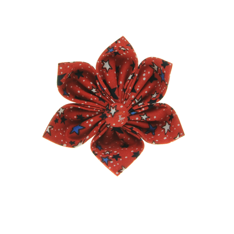 Handmade For Pets - Reach For The Stars Flowers (Red) | Fashion
