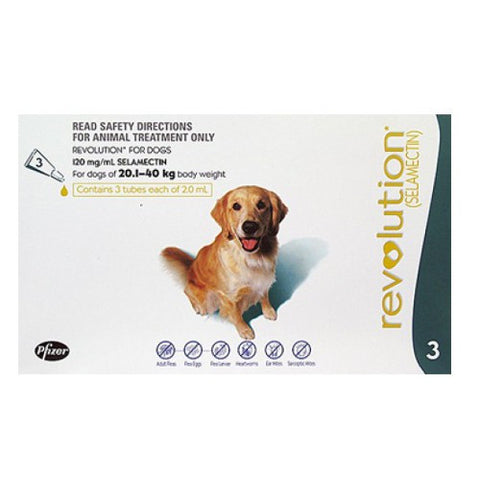 Revolution for Large Dogs 20 - 40kg | Grooming - 1