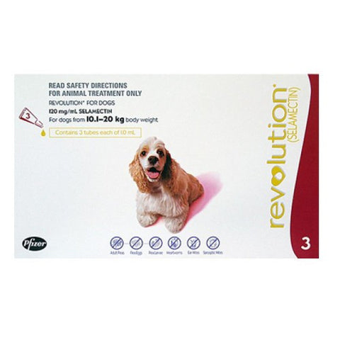 Revolution for Medium Dogs 10 - 20kg | Grooming - 1