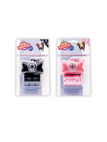 Spotty Bags To Go™ Dispenser | Toilet Needs