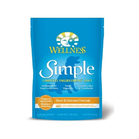 Wellness® – Simple Solutions Grain Free Duck & Oatmeal Dry Dog Food | Dog Dry Food - 1
