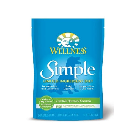Wellness® – Simple Solutions Grain Free Lamb & Oatmeal Dry Dog Food | Dog Dry Food - 1