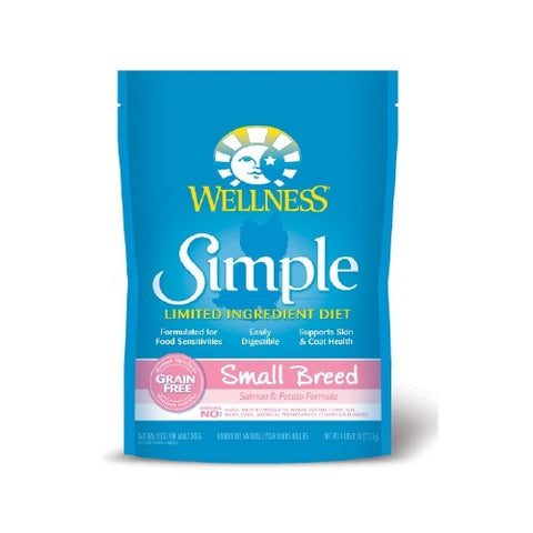 Wellness® – Simple Solutions Grain Free Salmon & Potato Dry Dog Food (Small Breed) | Dog Dry Food