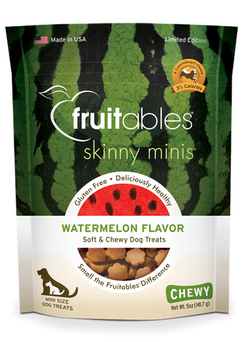 Fruitables Skinny Minis Watermelon 5oz | Treats