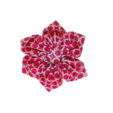 Handmade For Pets - Snow Flake Flowers (Pink) | Fashion