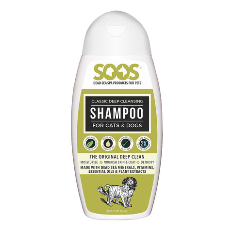 Soos Classic Deep Cleansing Shampoo For Dogs & Cats