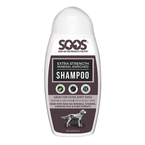 Soos Extra Strength Mineral Enriched Shampoo | Grooming - 1