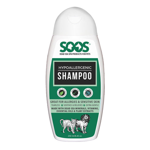 Soos Hypoallergenic Shampoo For Dogs & Cats