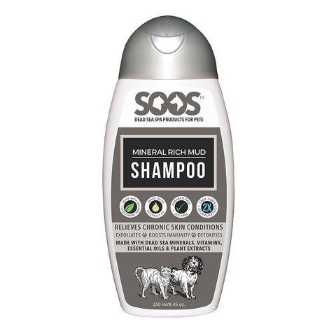 Soos Mineral Rich Mud Shampoo For Dogs & Cats