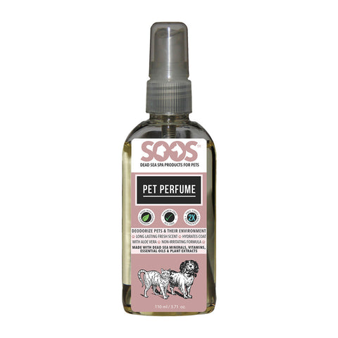 Soos Pet Perfume For Dogs & Cats