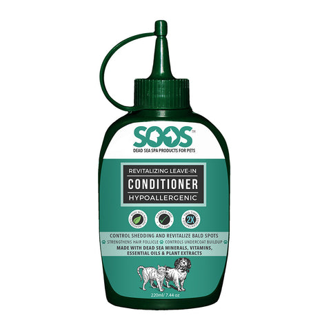 Soos Revitalizing Leave-In Conditioner For Dogs & Cats